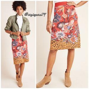 NWT, Anthropologie, Delphinia Knit Pencil Skirt